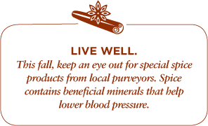 Retail Fall Live Well Graphic