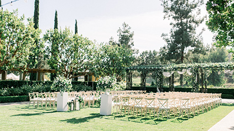 Aragon Lawn with Ceremony Chairs