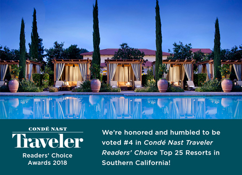 Conde Nast Traveler Readers' Choise Awards 2018