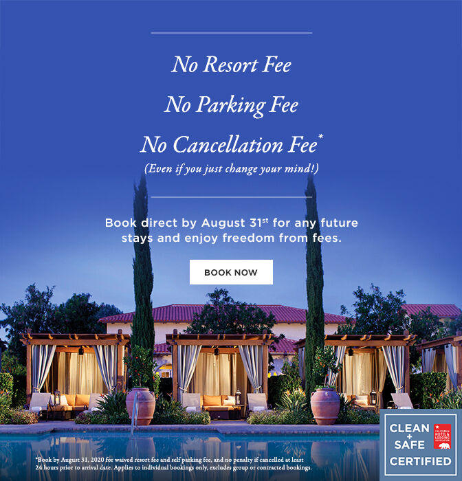 No resort fees. Book Now