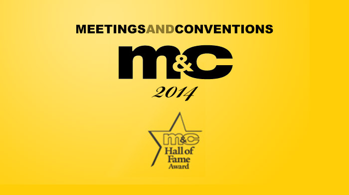Meetings & Conventions 2014 – Hall of Fame Award